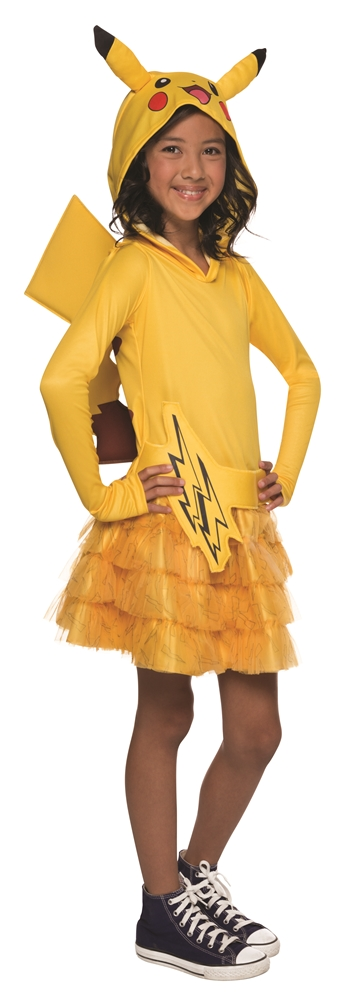 Pikachu Hooded Dress Child Costume