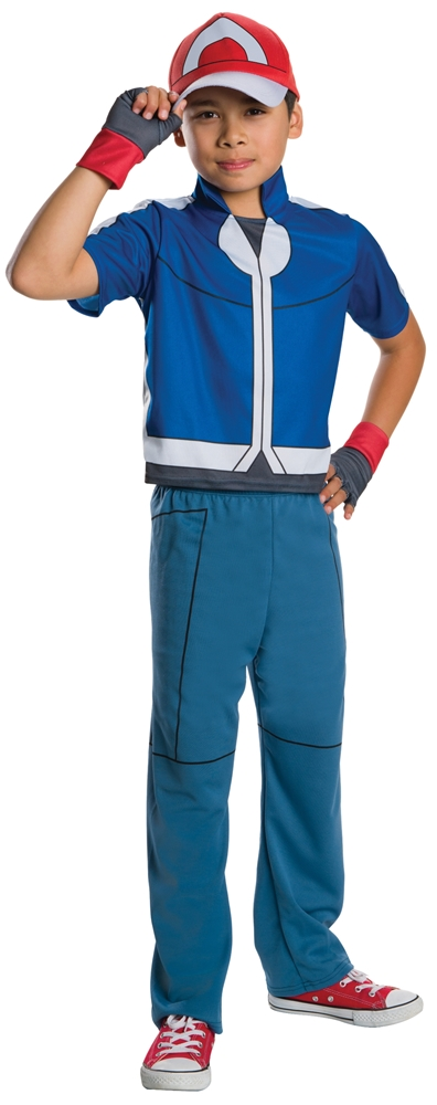 Pokemon Deluxe Ash Child Costume