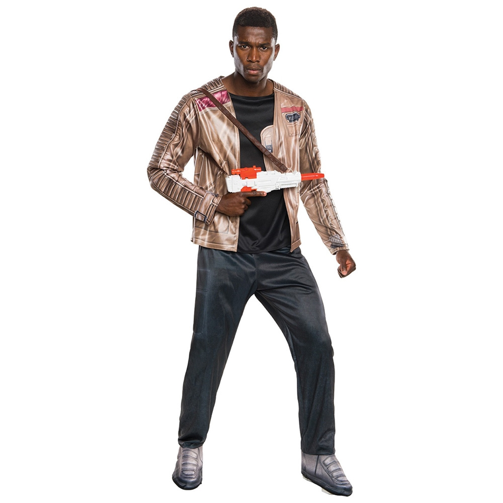 Star Wars: The Force Awakens Deluxe Finn Adult Mens Costume