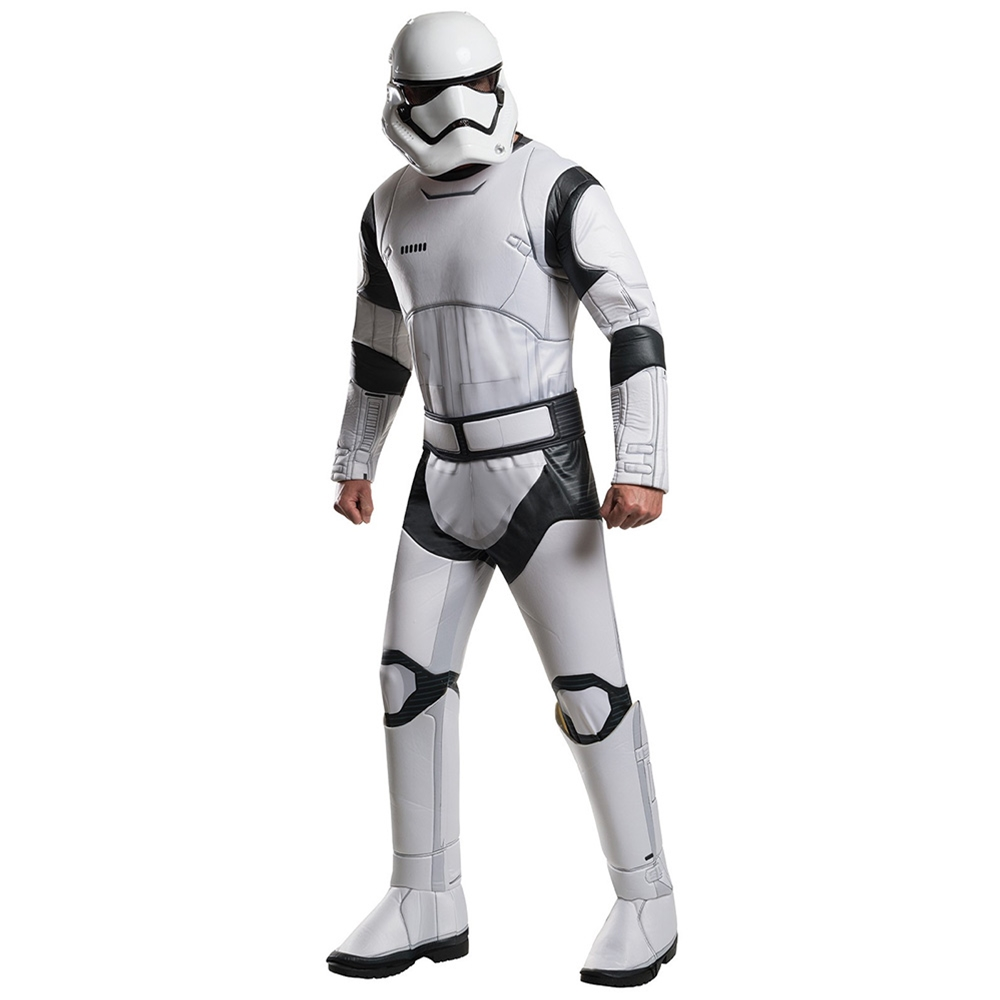 Star Wars: The Force Awakens Deluxe Stormtrooper Adult Mens Costume