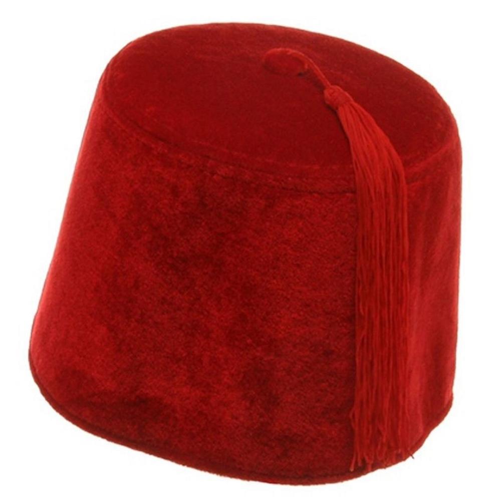Velvet Fez Hat