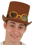 Brown-Deluxe-Steampunk-Hat-with-Glasses