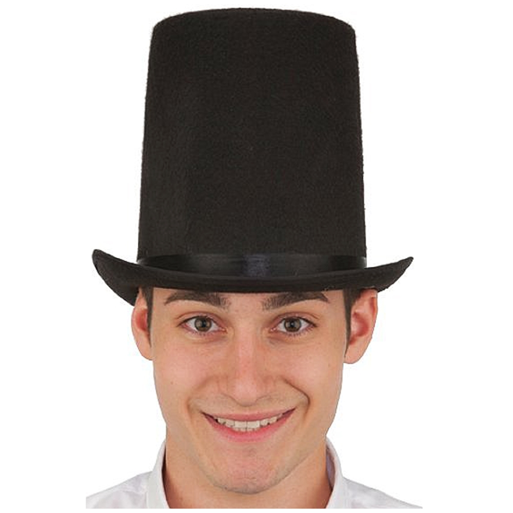 Large Stovepipe Top Hat