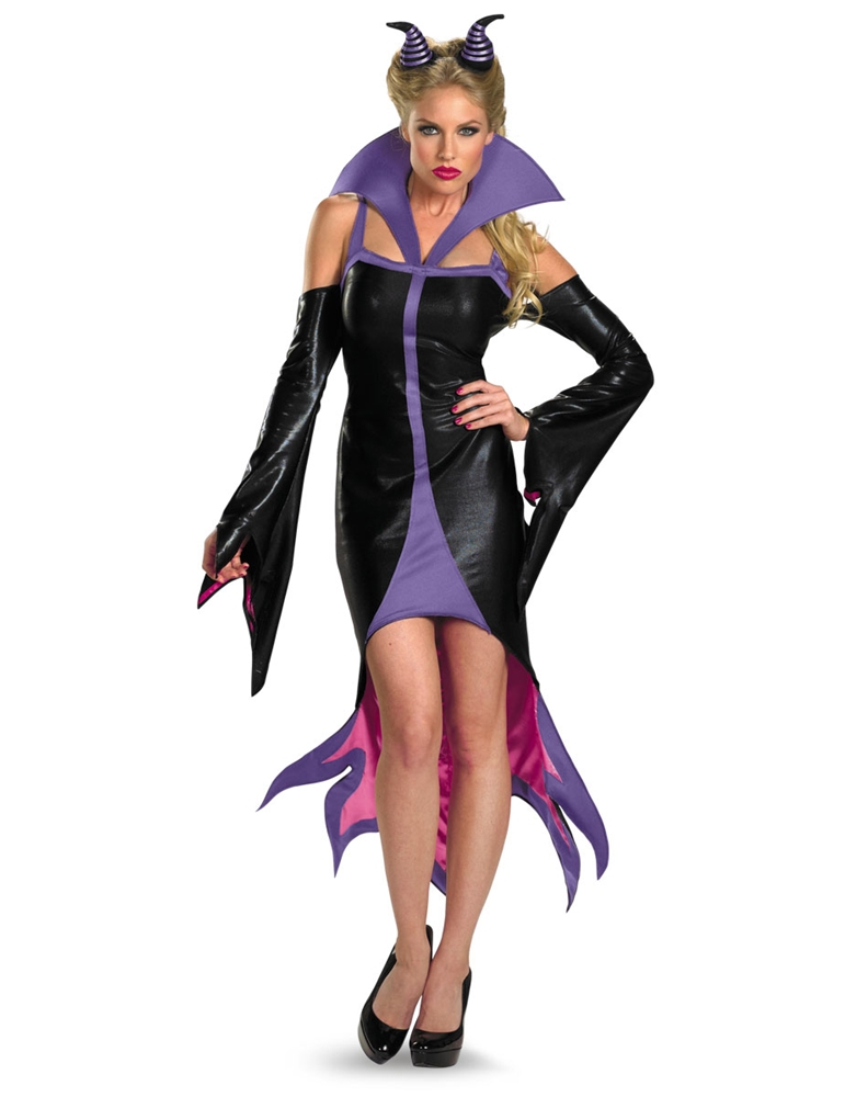 Sassy Maleficent Adult Womens Costume by Disguise