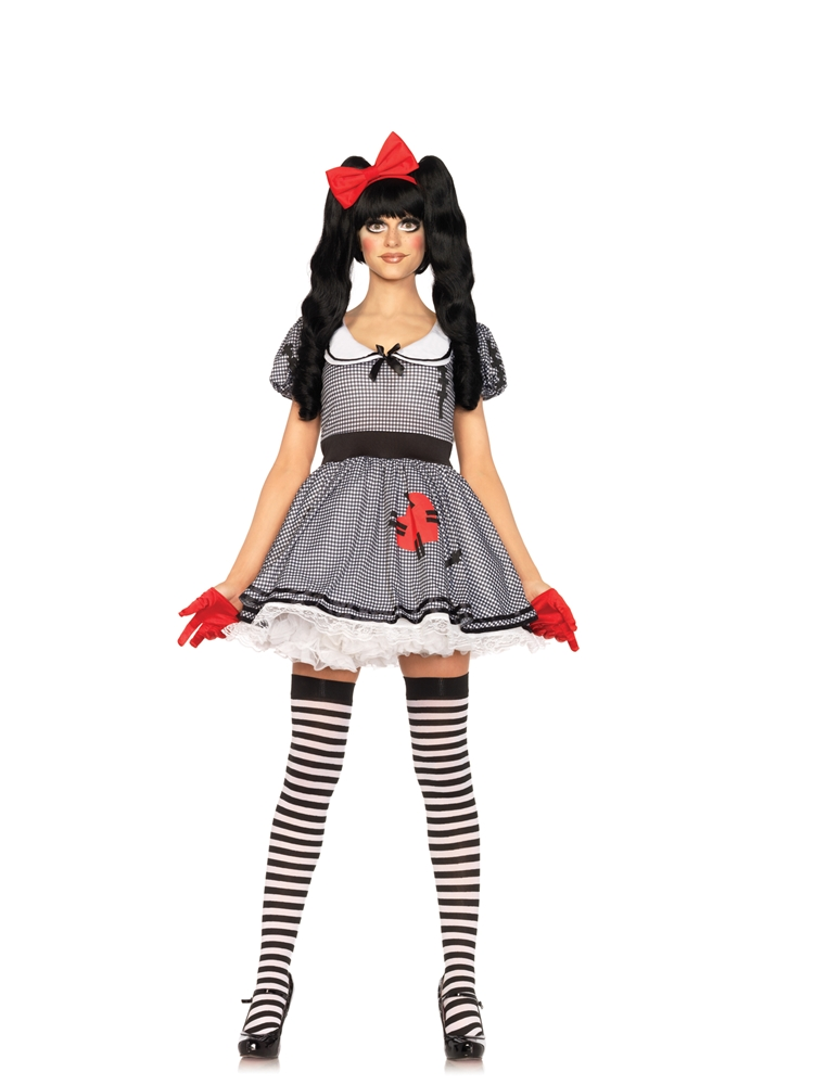 Wind-Me-Up Dolly Adult Womens Costume by Leg Avenue