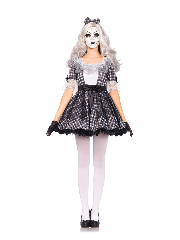 Pretty Porcelain Doll Adult Womens Costume