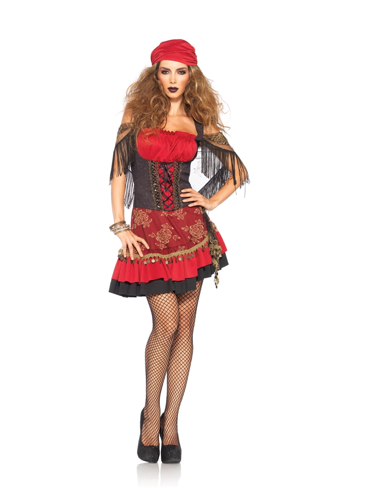Mystic Crystal Ball Vixen Adult Womens Costume