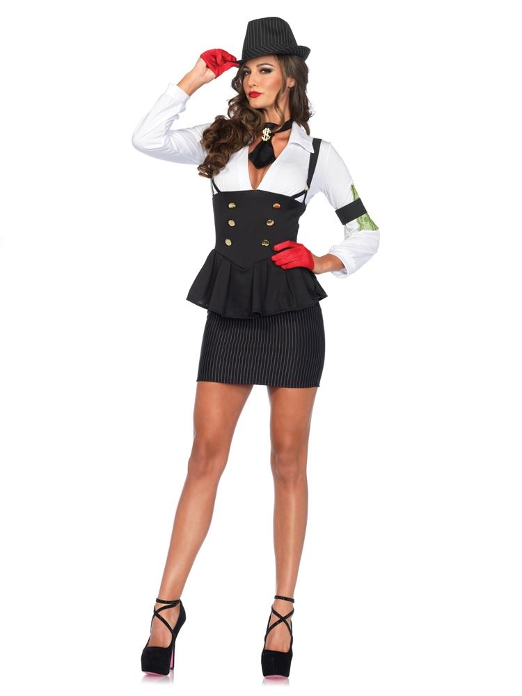 Machine Gun Molly Adult Womens Costume