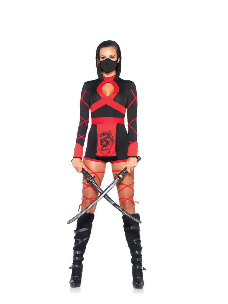 Dragon Ninja Diva Adult Womens Costume