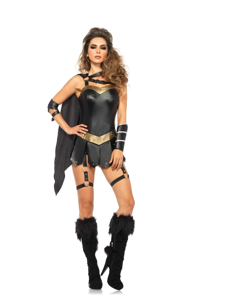 Dark Warrior Princess Adult Womens Costume by Leg Avenue