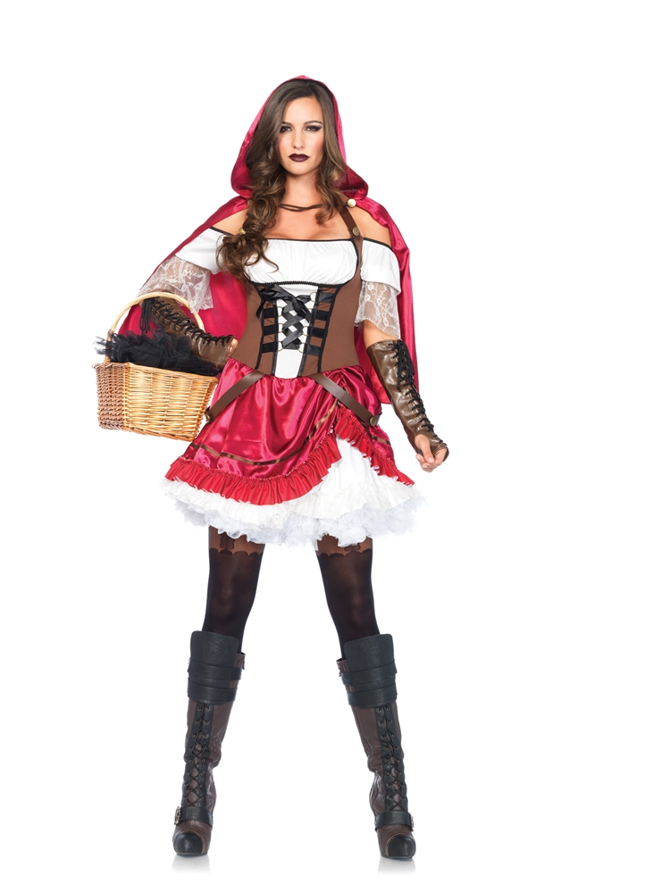 Adult Red Riding Hood Costume Rebel Riding Hood Adul...