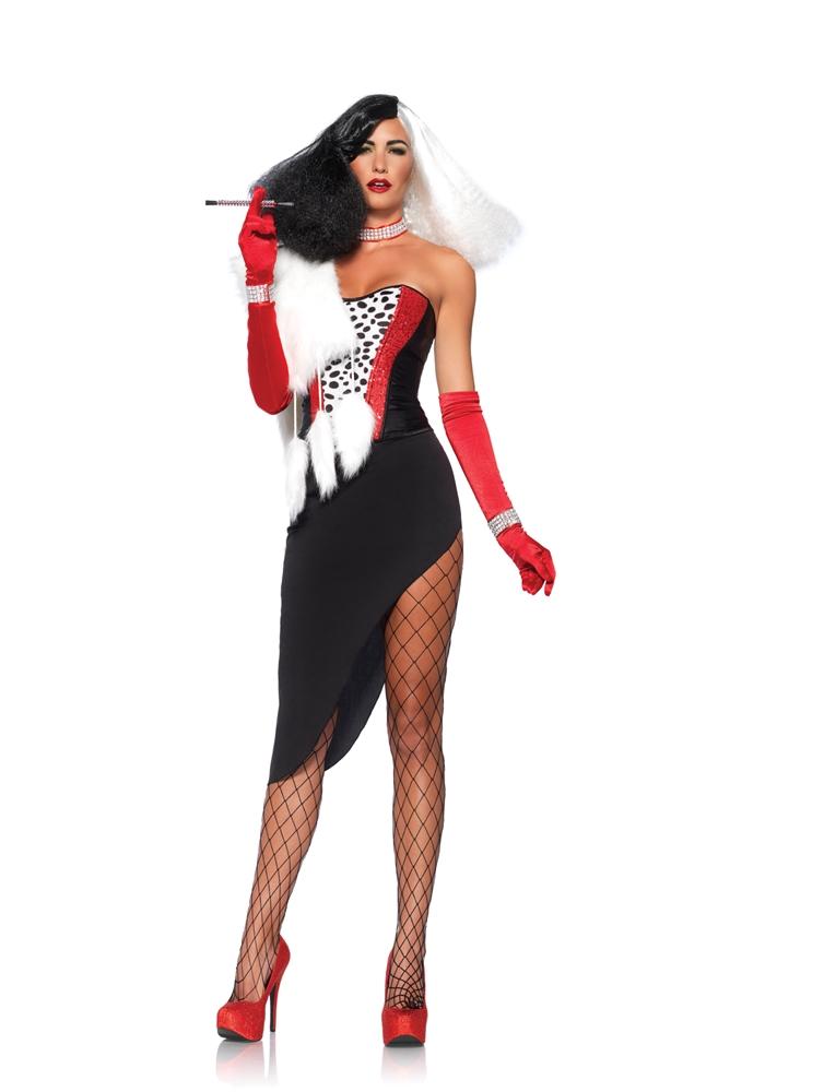 Cruel Diva Adult Womens Costume by Leg Avenue