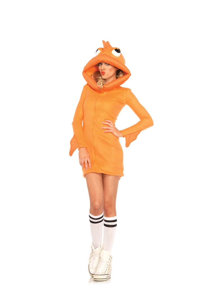 Cozy Goldfish Dress Adult Womens Costume by Leg Avenue
