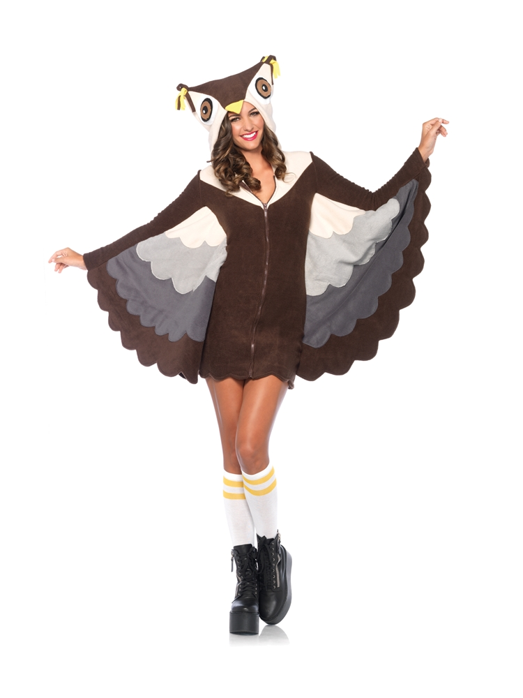 Cozy Owl Dress Adult Womens Costume