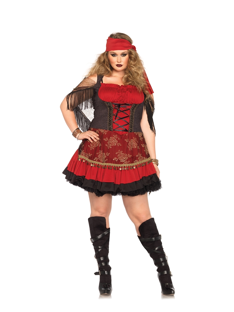 Mystic Crystal Ball Vixen Adult Womens Plus Size Costume