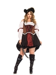 Ruthless Pirate Wench Adult Womens Plus Size Costume