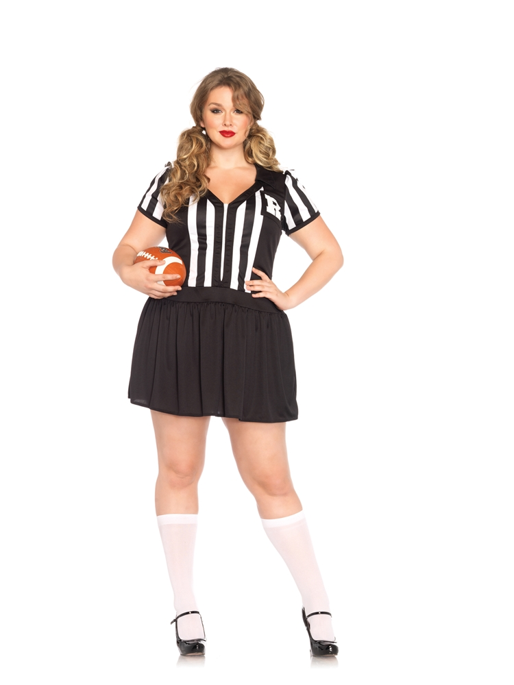 Halftime Hottie Adult Womens Plus Size Costume