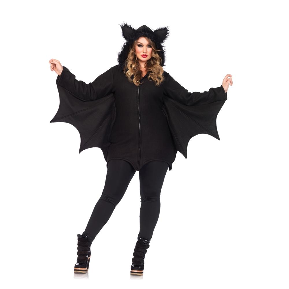 Cozy Bat Dress Adult Womens Plus Size Costume