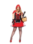 Curvy Shaper Red Riding Hood Adult Womens Plus Size Costume