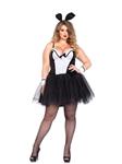 Curvy Shaper Bunny Adult Womens Plus Size Costume