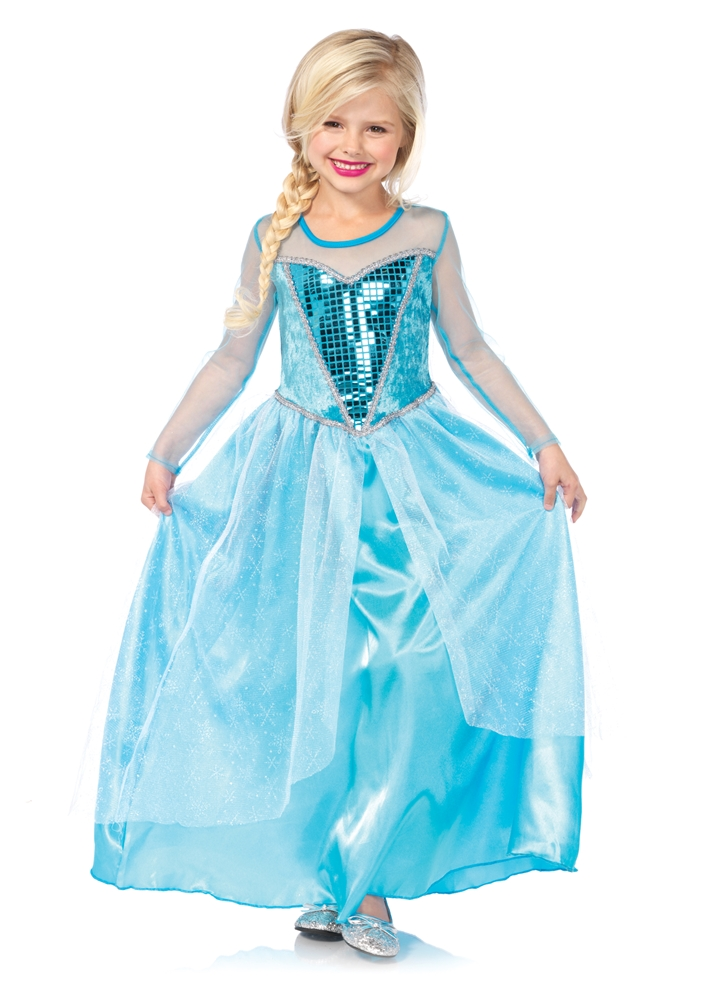 Fantasy Snow Queen Child Costume