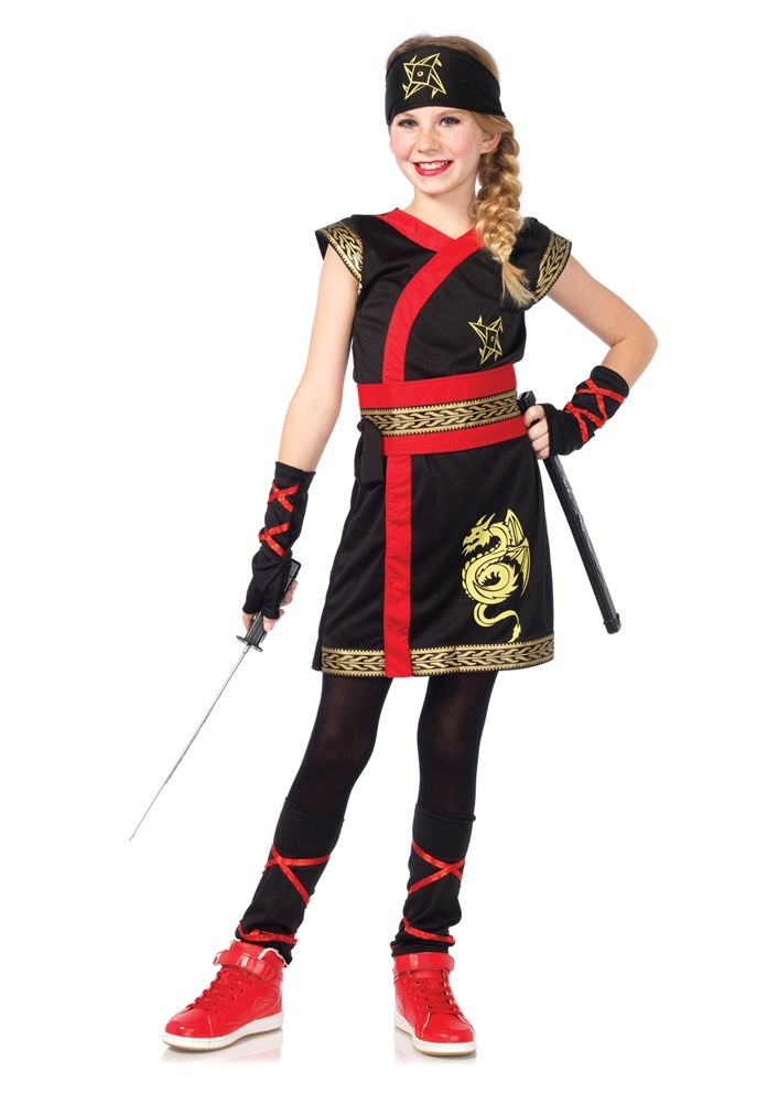 Ninja Warrior Princess Child Costume