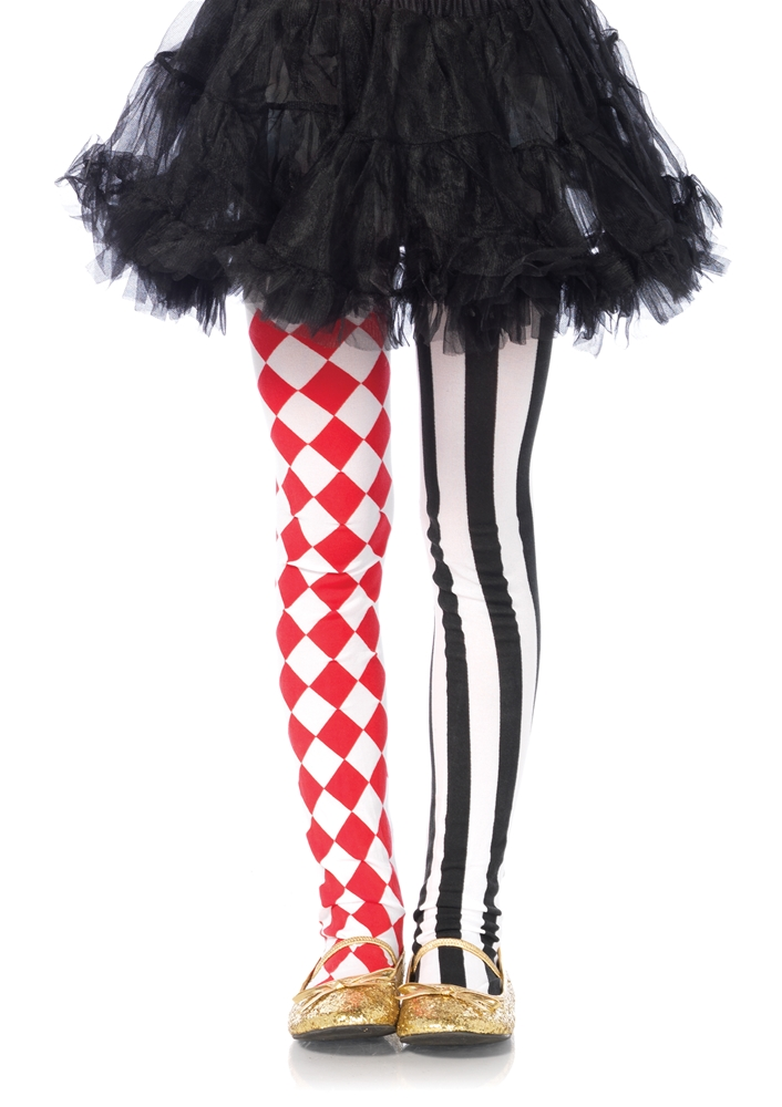 Harlequin Dual Print Child Tights by Leg Avenue