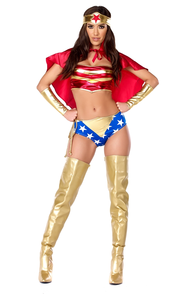 Sultry Strength Sexy Hero Adult Womens Costume