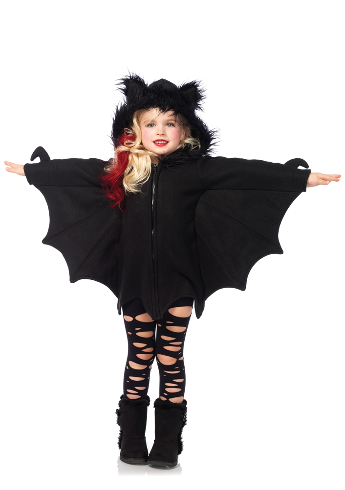 Cozy Bat Dress Child Costume