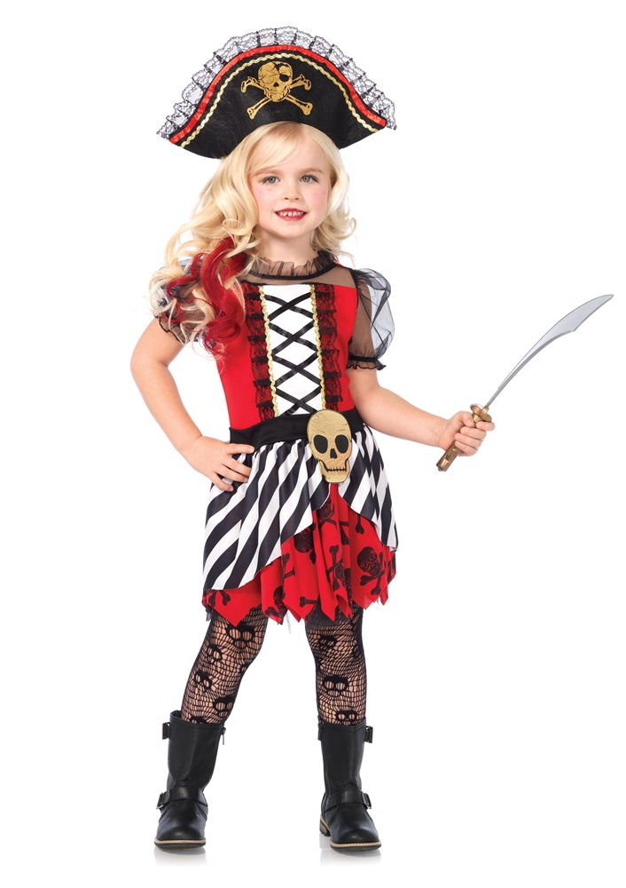Rogue Pirate Dress Child Costume