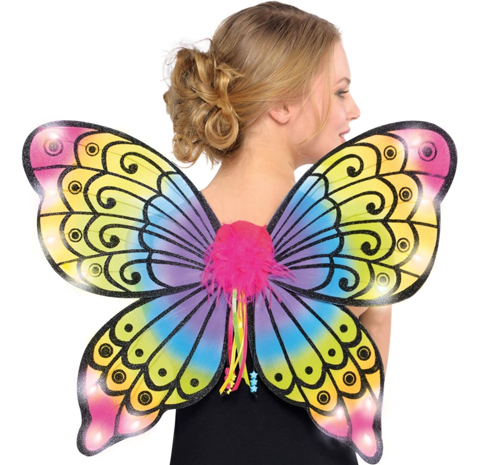 Electric Party Light-Up Butterfly Wings