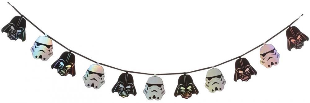 Star Wars Garland 6.5ft by Seasons Usa Inc