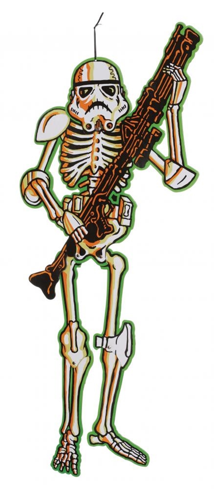 Star Wars Stormtrooper Hanging Skeleton