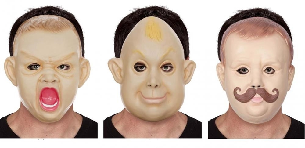 Big Baby Face Mask (More Styles)