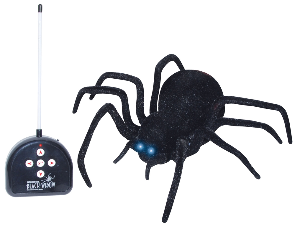 Remote Control Black Spider