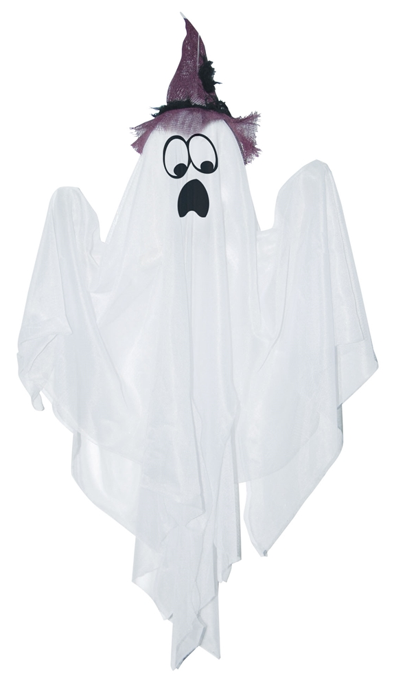 Mini Hanging Ghost with Hat (More Colors) by Sunstar Industries Inc.