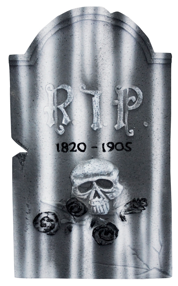 Skull Tombstone 21in (More Styles)