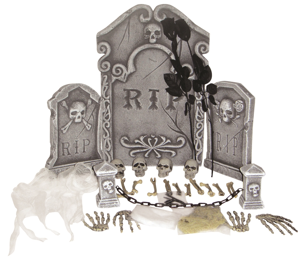 Deluxe RIP Graveyard Kit 31pc