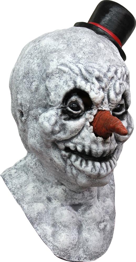 Evil Frosty Snowman Mask