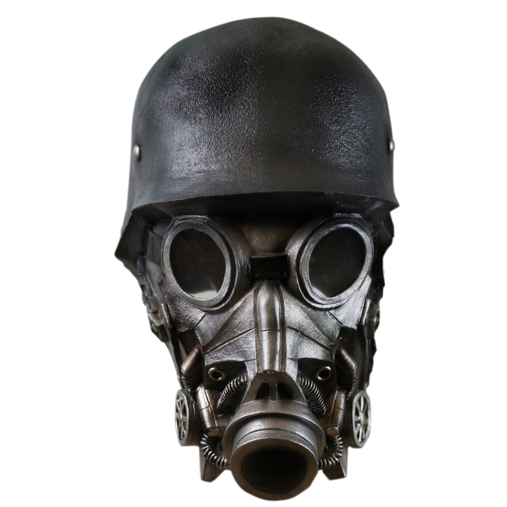 Chemical Warfare Soldier Mask