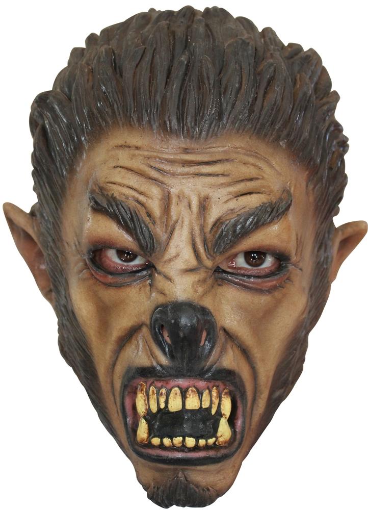 Growling Wolf Child Mask