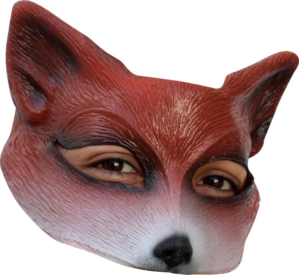 Foxy Fox Half Mask