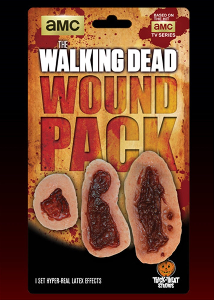 The Walking Dead Walker Wound Appliances