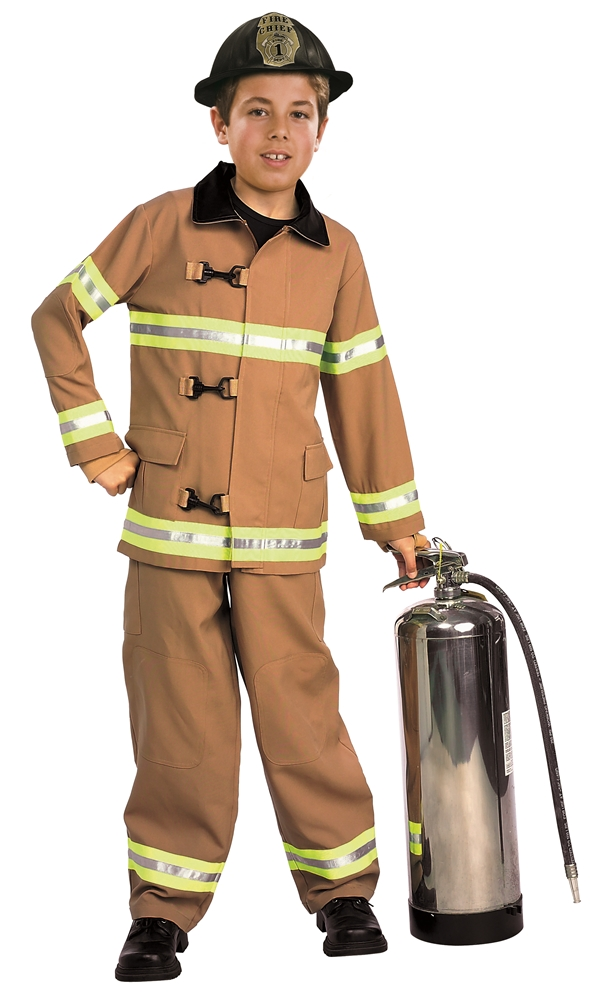 Firefighter Child Costume by Rubies