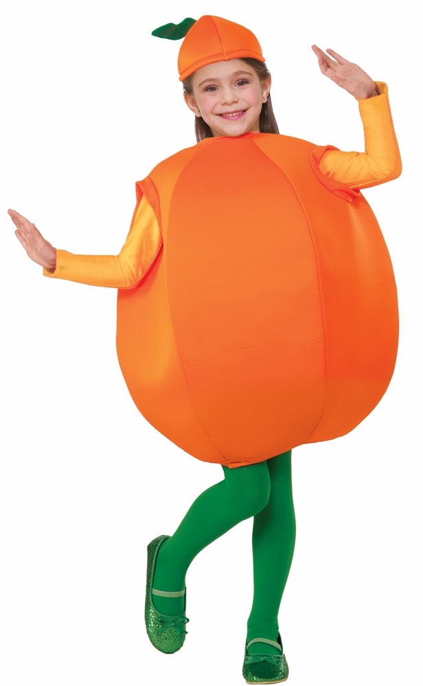 Orange Child Costume