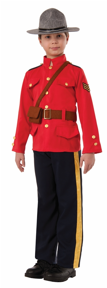 Mountie Ranger Child Costume