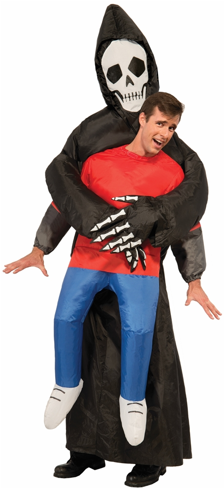 Inflatable Soul Taking Reaper Adult Unisex Costume