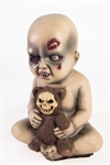 Evil Baby Prop with Teddy Bear