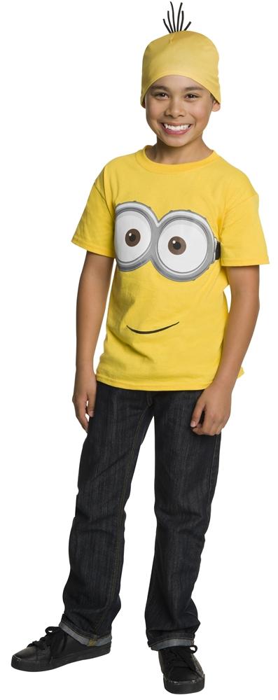 Minion Child Shirt & Headpiece Set