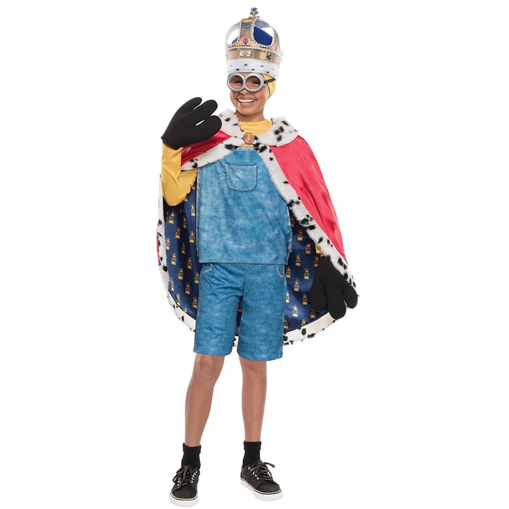 Minion King Adult Mens Cape